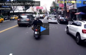 A very funny accident - OMG video