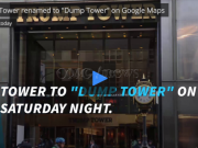 Hacker renamed Donald Trump's Manhattan building on Google Maps