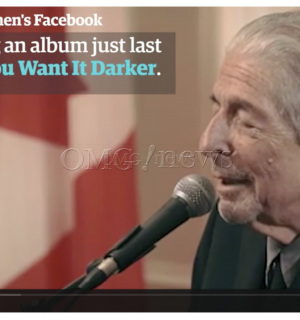 Sadness and Sorrow – Leonard Cohen