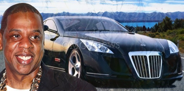 10 Most Popular Celebrity Cars - Maybach Exelero