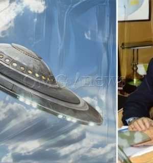 Chilean Navy See UFO