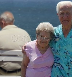 Elderly couple die holding hands