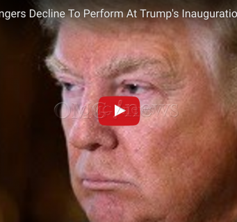 OMG! More Singers Decline To Perform At Trump's Inauguration