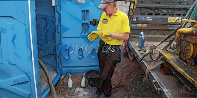 Revolting Jobs With Top Salaries - Portable Toilet Cleaner
