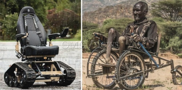 Top 20 Life Changing Inventions from 2016 - All-terrain wheelchair