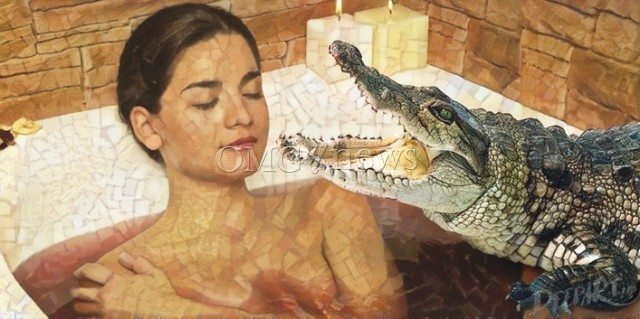Weirdest Beauty Rituals From The Past - Crocodile Dung Bath