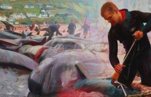 Bloody Whale Massacre Must End NOW!