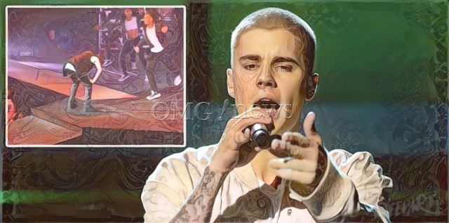 Cringeworthy Stage Mishaps of the Stars - Justin Bieber