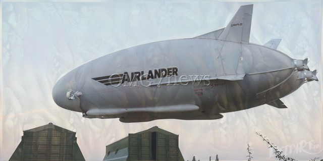 Fantasy planes of the Future - Airlander 10