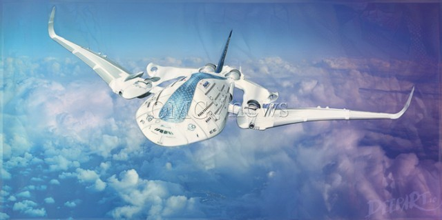 Fantasy planes of the Future - AWWA Sky Whale