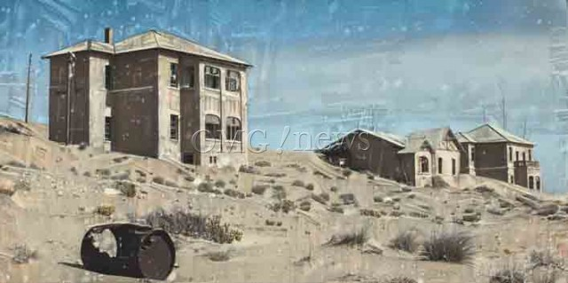 Ghost Towns You Can Visit - Kolmanskop Ghost Town