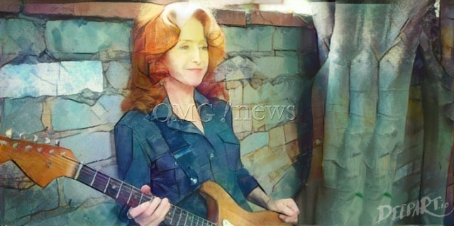 Hot Women Rock Stars who are actually Guitar Geniuses - Bonnie Raitt