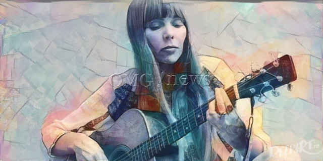 Hot Women Rock Stars who are actually Guitar Geniuses - Joni Mitchell