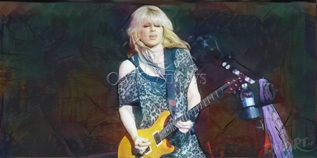 Hot Women Rock Stars who are actually Guitar Geniuses - Orianthi