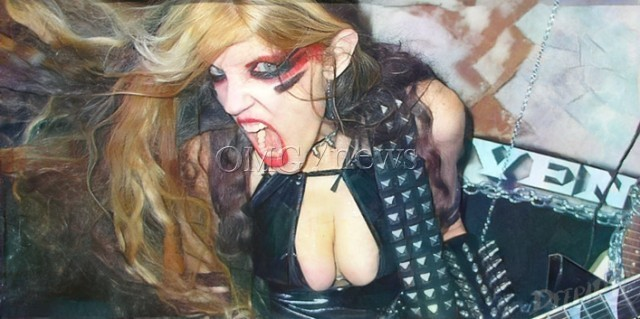 Hot Women Rock Stars who are actually Guitar Geniuses - The Great Kat