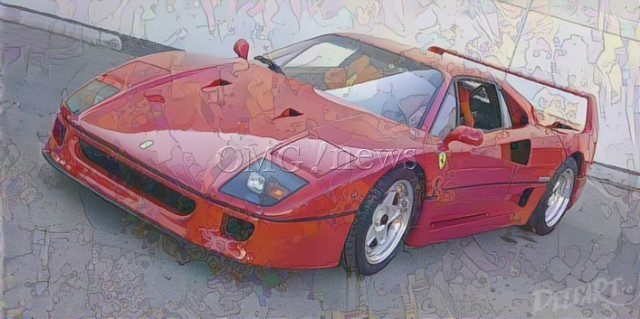 Sotheby' £20 Million Classic Cars - 1989 Ferrari F40