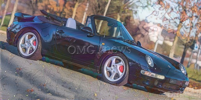 Sotheby' £20 Million Classic Cars - 1995 Porsche 911 Turbo Cabriolet
