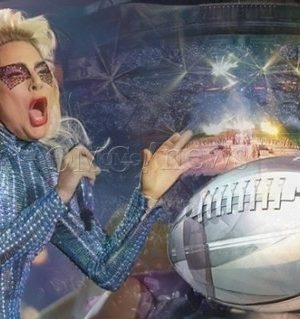 Superstar Lady Gaga Wows at the Super Bowl