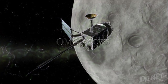 The Earth Bio-Contaminates the Moon with Oxygen - Moon it contains bio-generated oxygen from Earth
