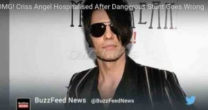 OMG! Criss Angel Hospitalised After Dangerous Stunt Goes Wrong