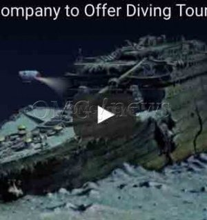 OMG! Travel Company to Offer Diving Tours of the Titanic Wreckage