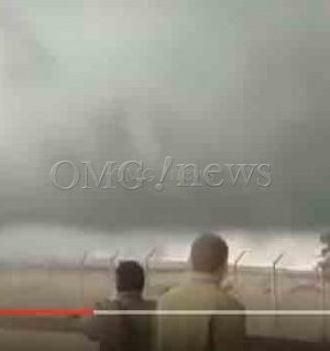 Apocalyptic Cloud Stops ISIS - Video