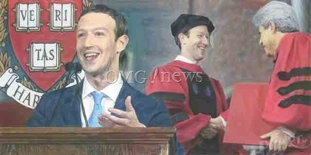 Mark Zuckerberg Receives Honorary Harvard Doctorate