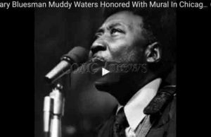 Legendary Bluesman Muddy Waters Honored With Mural In Chicago