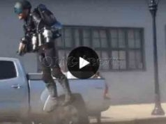 OMG! Jet-Powered Exosuit, Must See Video