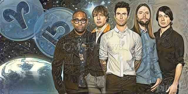 Your Favorite Band's Electric Zodiac Chemistry - Maroon 5