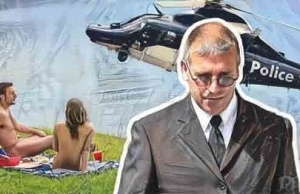 "OMG! ""Sex-Obsessed"" Policeman Filmed Sex Acts from Police Helicopter"