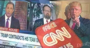 OMG! CNN Red-Faced Amid Gaffes and Fake News