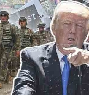 OMG! Trump Bans Transgender Military Recruits