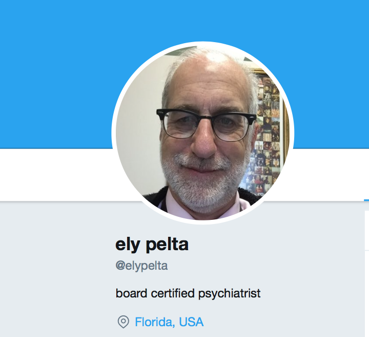 OMG! Psychiatrist Suspended After Perverted Conduct! - Ely Pelta - Twitter profile photo