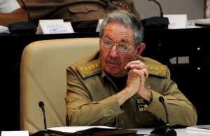Cuba's President Raul Castro is seen during the National Assembly in Havana