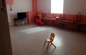 Room that used to house Sunday School classes is pictured at a church in Wenzhou