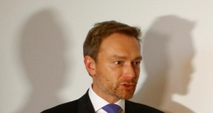 Free Democratic Party (FDP) leader Christian Lindner arrives for the board meeting at the party headquarters in Berlin
