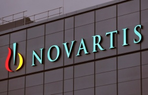 Novartis' logo is seen in Stein