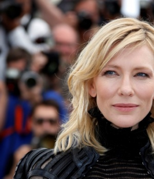"Cast member Cate Blanchett poses during a photocall for the film ""Carol"" in competition at the 68th Cannes Film Festival in Cannes"