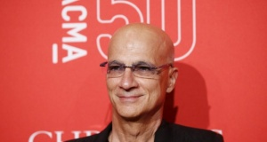 Music producer Jimmy Iovine poses at LACMA's 50th anniversary gala in Los Angeles