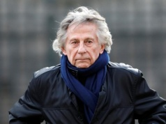 Film director Roman Polanski arrives at the Madeleine Church to attend a ceremony during a 'popular tribute' to late French singer and actor Johnny Hallyday in Paris