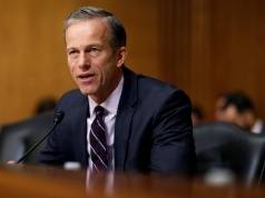 Senator Thune questions Alex Azar II as he testifies on his nomination to be Health and Human Services secretary in Washington