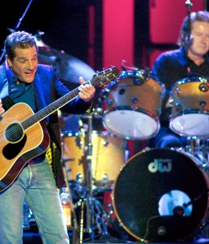 Glenn Frey of the Eagles performs in Las Vegas