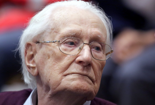 Groening, defendant and former Nazi SS officer dubbed the