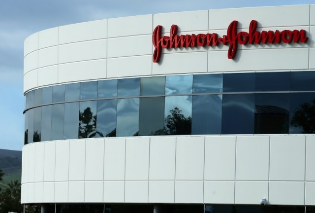 A Johnson&Johnson building is shown in Irvine, California