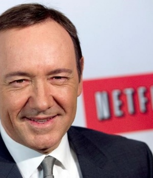 "Actor Kevin Spacey arrives at the premiere of Netflix's television series ""House of Cards"" at Alice Tully Hall in the Lincoln Center in New York City."