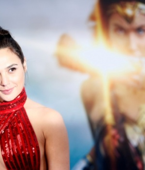 "Cast member Gadot poses at the premiere of ""Wonder Woman"" in Los Angeles"