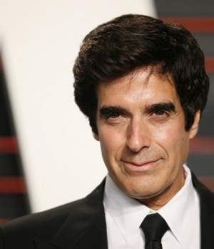 David Copperfield arrives at the Vanity Fair Oscar Party in Beverly Hills