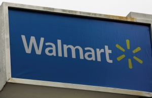 The logo of Walmart store is pictured in Rio de Janeiro