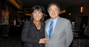 Honey and Barry Sherman at the annual United Jewish Appeal (UJA) fundraiser in Toronto